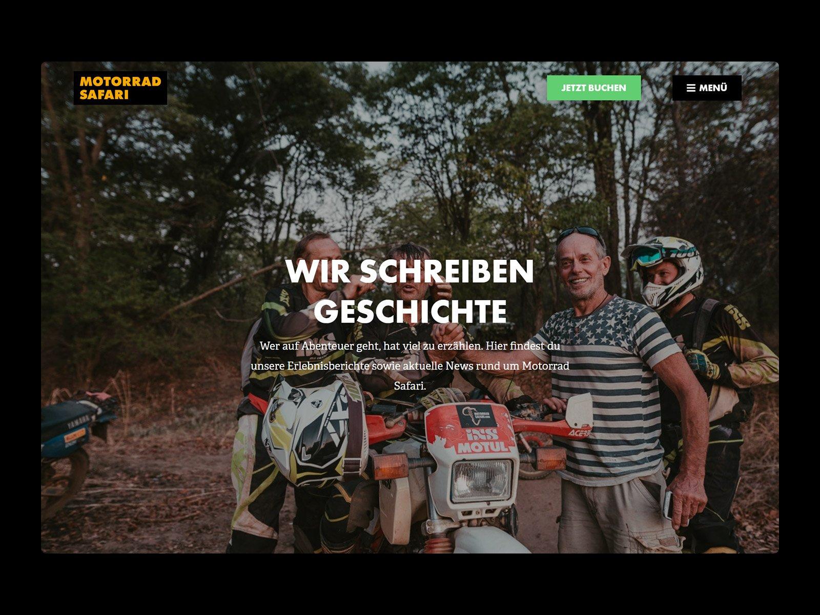 210405 Motorradsafari Project single image